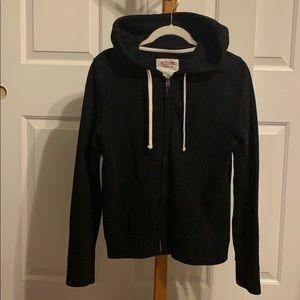 Black Zip-up Massimo hoodie